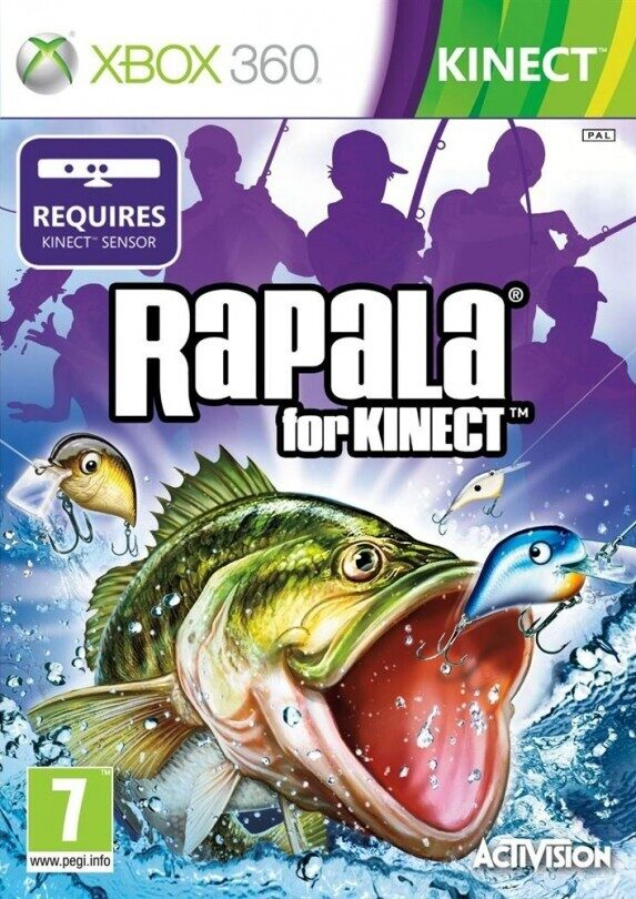 Kinect 2 for Fishing games for xbox 360