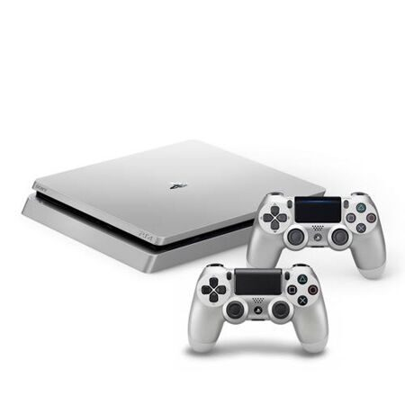 ps4_slim_500gb_silver_2controllers